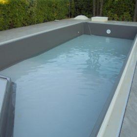 Riempimento piscina - Focus scivolo