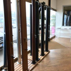 Showroom Zavatti Piscine a Sfioro - Docce solari per piscina