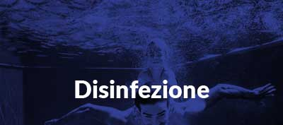 Disinfezione di una piscina a sfioro Zavatti