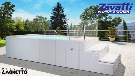 yacht zavatti piscine laghetto